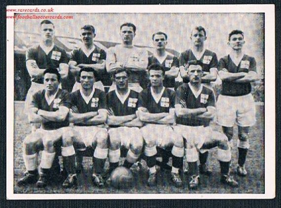 1958 Northern Ireland German sticker WC58